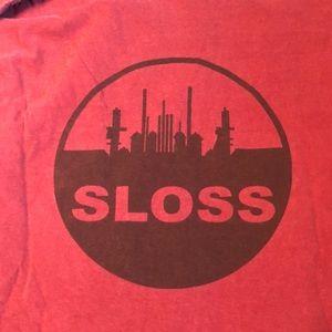 Sloss Comfort Colors tshirt size XL